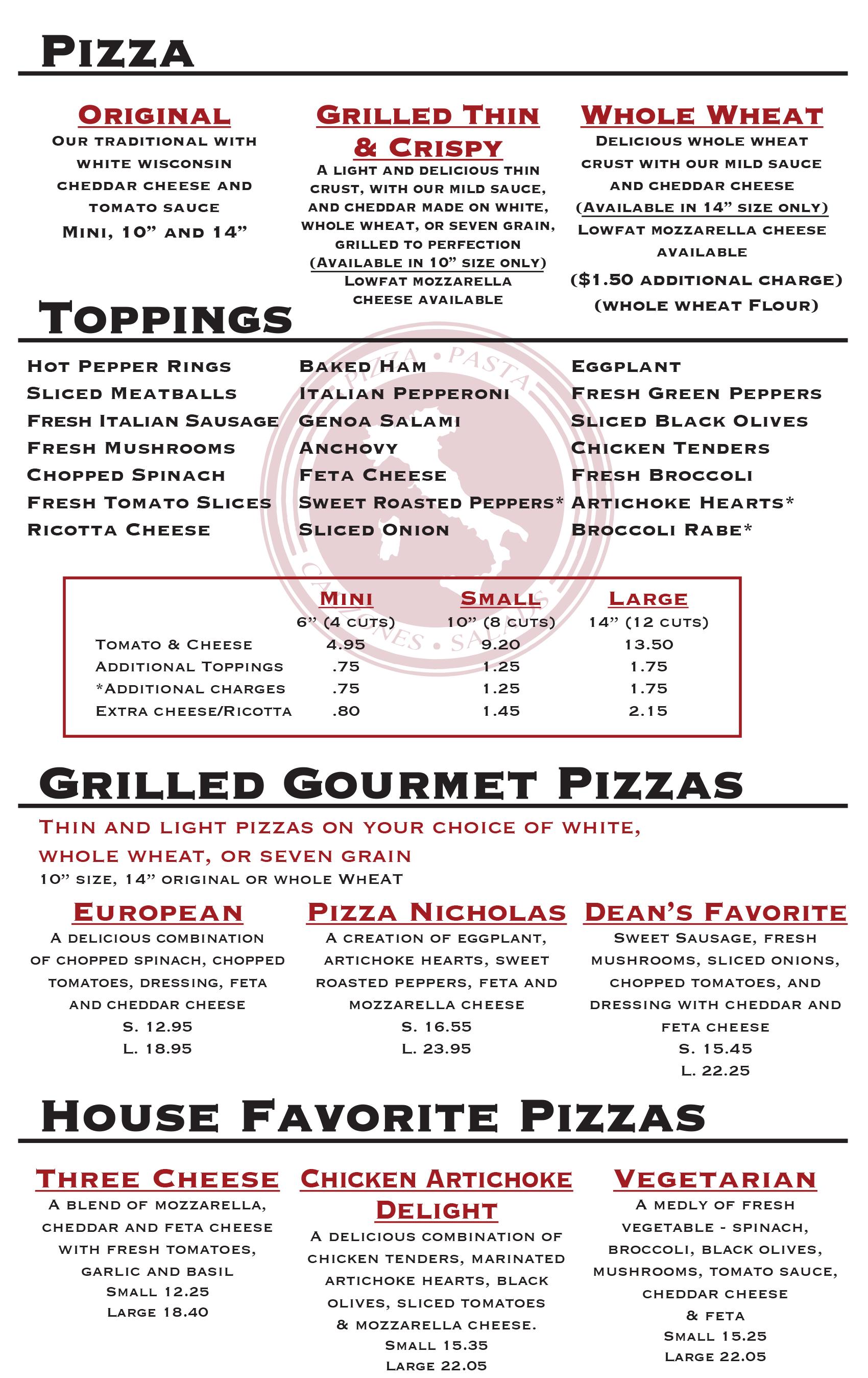 best pizza cranston ri